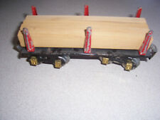 1930's DORFAN TINPLATE LITHO FLAT CAR WITH LOAD