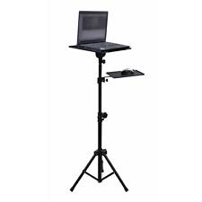 SoundLAB Adjustable Laptop / Projector Stand inc. Mouse Shelf