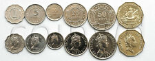 BELIZE 6 COINS SET 2000-2012 UNC (# 672)