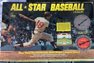 Vintage 1968 CADACO All Star Baseball Game No. 183 Board Game MLB 60+ Discs RARE