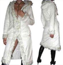 Super Sexy Damen Winter Mantel Jacke Weiß 34/36/38/40 XS/S/M NEU Model 2018