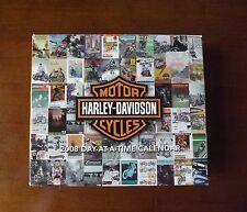 2008 Harley Davidson Day at a Time Desk Calendar. In Box