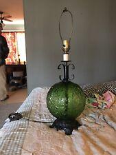 Vintage Retro Rare Green 1971  L&L WMC Do Light  Lamp Table Lamp