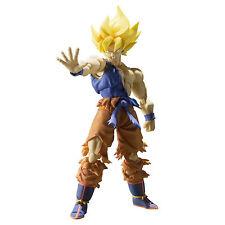 Bandai Dragon Ball Z Super Saiyan Goku Warrior Awakening Figuarts Figure NEW Toy