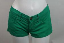 Size 30 Shamrock Green Frankie B Short Shorts Women Color Summer Bright Spring