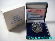 (188) ESPAÑA 2002 10 EUROS PLATA PROOF LUIS CERNUDA
