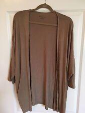 LANE BRYANT Boho Taupe Soft Cardigan, Size 18/20 2X