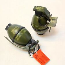 Mini Grenade Shaped Military Tactics Refillable Butane Gas Flame Cigar Lighter
