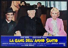 FOTOBUSTA 6, LA GANG DELL'ANNO SANTO L'année sainte GABIN, DARRIEUX, AFFICHE