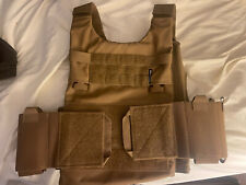Spiritus Systems Lv119 Large Coyote Brown Overt Front and Overt Back With Cumber