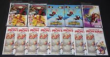 Modern Marvel Deadpool Variant Cover Lot 13pcs 7.0-9.2 Iron Man Thanos