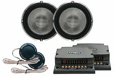 """Earthquake Sound VTEK-MC6 6.5"""" Component Set with Tweeters and Passive Xovers"""