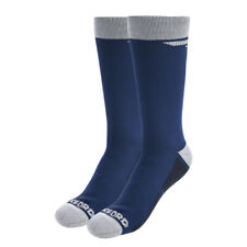 Oxford Waterproof Oxsocks Thermal Motorcycle Riding Motorbike Scooter BLUE
