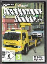 ABSCHLEPPWAGEN SIMULATOR 2010 Kran Seilwinde PC Spiel