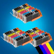 15 Ink Cartridges for Canon Pixma MG5750 MG5751 MG5752 MG5753 MG6850 MG6851 P