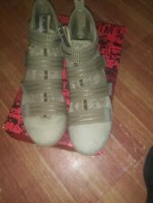 Nike LeBron Soldier XI 11 SFG Green Camo Size 9.5  Medium Olive Black with box