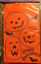 40 Halloween Paper Goodie Treat Bags Bats Pumpkins Nip🇺🇸