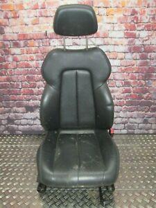 Mercedes-Benz R170 SLK Sitz rechts  Beifahrersitz Leder schwarz Sitzheizung