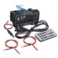 5'' Bluetooth Car Audio Power Amplifier FM Radio Player MIC/SD/USB/DVD/MP3 Input