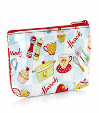 HARRODS LONDON VINTAGE LUNCH BOX DESIGN COIN PURSE - GREAT CHRISTMAS GIFT