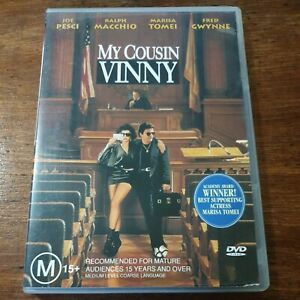 My Cousin Vinny DVD R4 Like New! FREE POST