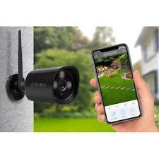 Sinji IP Buiten Camera - WiFi Beveilingscamera - Waterdicht - Nachtvisie - HD op