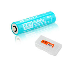 Olight Custom 18650 3500mAh Rechargeable Battery for Olight S30R III with Case