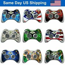 17 Designs Skin Decal Vinyl Wrap Sticker Cover for Xbox 360 Controller Accessory