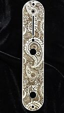 TELE CONTROL PLATE Maple Engraved Walla Walla Guitar Company RAW & UNFINISHED!