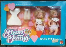 The Heart Family Mattel  Baby Wets - Baby's Fratellini Vintage 87'