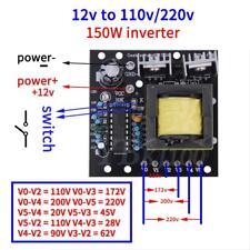 150W DC 12V to AC 110V/220V Inverter Board SquareWave Voltage Converter Module