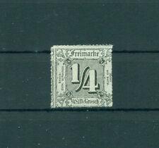 Postfrische Briefmarken aus dem altdeutschen Thurn & Taxis (bis 1945)