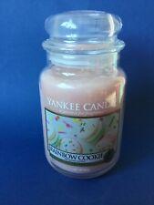 Yankee Candle Rainbow Cookie Large Jar 623g