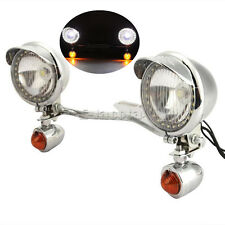 Passing Light Bar Fog Turn Signals For Harley Davidson Softail Heritage Classic