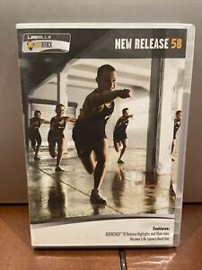 Les Mills Body Attack Release #58 WITH DVD CD BOOKLET