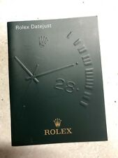 ♛ Authentic ROLEX ♛ 2007 Datejust Watch Manuals & Guides Booklet