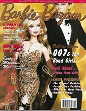 Barbie Bazaar Magazine October 2002 Capucine Barbie, 007 and the Bond Girls