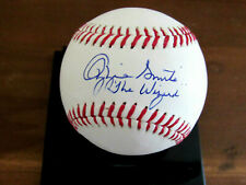 OZZIE SMITH THE WIZARD ST LOUIS CARDINALS SIGNED AUTO OML BASEBALL JSA AUTHENTIC