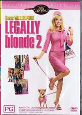 LEGALLY BLONDE 2 - REESE WITHERSPOON SALLY FIELD COMEDY NEW DVD MOVIE SEALED