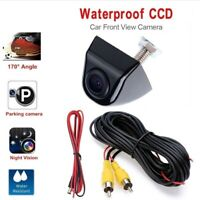 Wired 170° Wide Angle Reverse Car CCD Front View Camera Night Vision Waterproof
