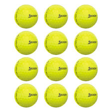 New Srixon Z-Star XV 4 Tour Yellow LOOSE #6 Golf Balls - 1 Dozen