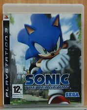SONIC THE HEDGEHOG - PLAYSTATION 3 - PAL ESPAÑA - CD FISICO - COMPLETO