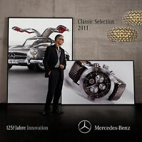 Mercedes Classic Selection Prospekt 2011 Uhren Chronographen Mode Wackeldackel