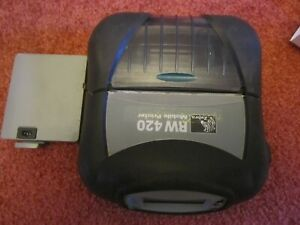 Zebra RW 420 Mobile Thermal Printer BLUETOOTH R4D version R4D-0UA000N-00