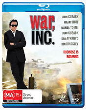 War, Inc. * Blu-ray Disc * NEW