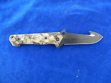 """COUTEAU / Knife - """"TOE Pro"""" - CAMOUFLAGE / Camouflage - CHASSE / Hunting - TOP !"""
