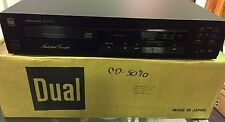 Dual CD-5070-RC CD-Player Audiophile Concept BRAND NEW IN BOX! High End Vintage