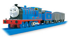 TOMY PLA RAIL Plarail TRACKMASTER Edward With Carry CAR Motorized Train