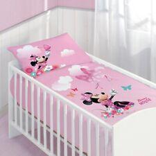 Disney Minnie Mouse / Minnie Maus Baby-Bettwäsche Flanell/Biber 40x60 100x135 cm