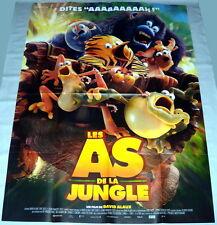 LES AS DE LA JUNGLE David Alaux Animation GRANDE AFFiCHE